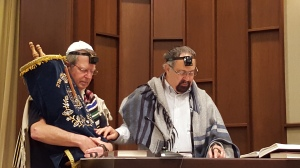 Rabbi at Minyan